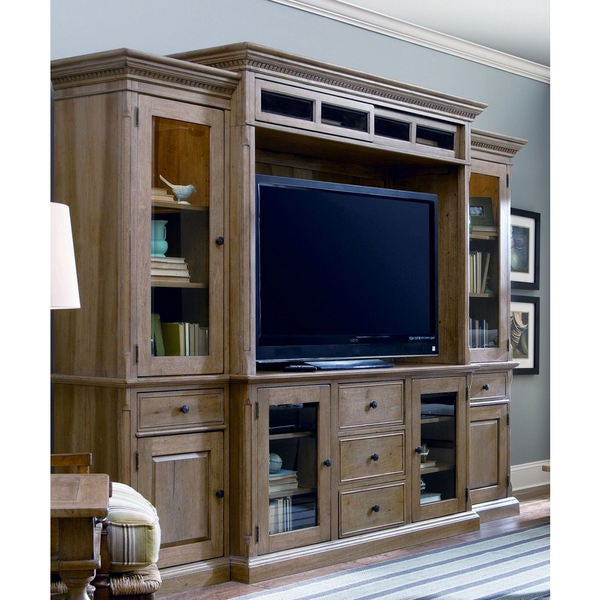 Paula Deen Down Home Oatmeal Entertainment Wall System