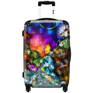 iKase 'Wonderland' Check-in 24-inch,Hardside Spinner Suitcase