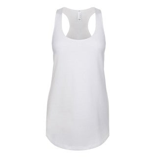 Blast Girls' White Jersey Tank