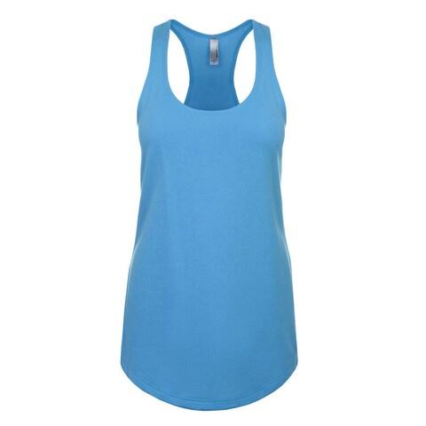 Blast Girls' Turquoise Jersey Tank
