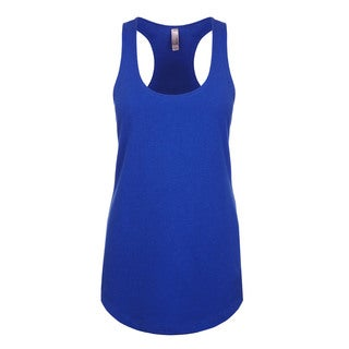 Blast Girls' Royal Blue Polyester Tank Jersey