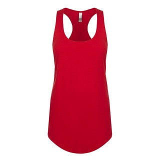 Blast Girl's Red Polyester Tank Jersey