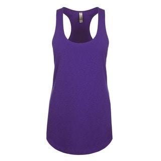 Blast Girl's Purple Polyester Tank Jersey