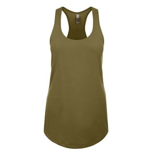 Blast Girls' Military Green Jersey Tank