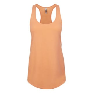 Blast Girl's Light Orange Jersey Tank