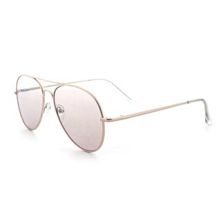 Epic Eyewear Pure Flat Flash Lens UV400 SE Aviator Sunglasses