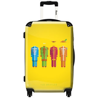 iKase 'The Beatles' Check-in 24-inch,Hardside Spinner Suitcase