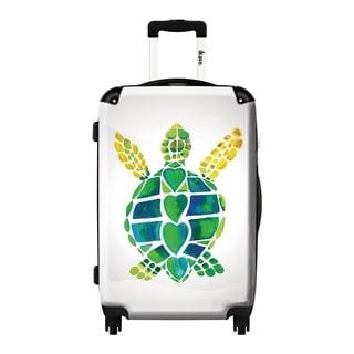 iKase 'Turtle Love' 24-inch Fashion Hardside Spinner Suitcase