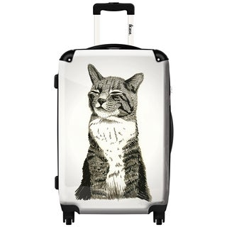 iKase 'Cat' Check-in 24-inch,Hardside Spinner Suitcase