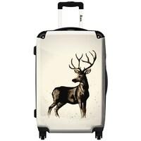 Shop iKase 'Deer Wave' Check-in 24-inch,Hardside Spinner Suitcase