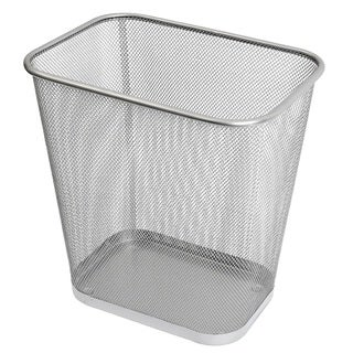 Ybm Home Steel Mesh Rectangular Open Top Waste Basket