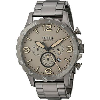 Fossil Men's JR1523 'Nate' Chronograph Stainless Steel Watch