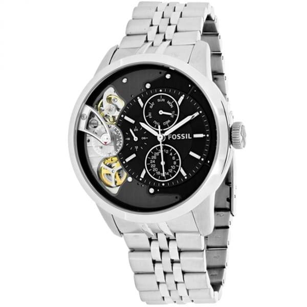... Case Leather Strap Mens NWT + Warranty ME1099. Source · Townsman Chronograph Stainless Steel Watch. Fossil Men's ME1135 'Townsman' Multi