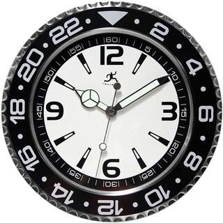 Infinity Instruments 13.5-inch Bezel Wall Clock