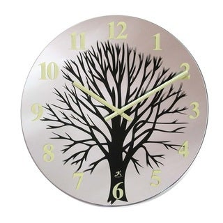 Infinity Instruments 14-inch Topiary Wall Clock