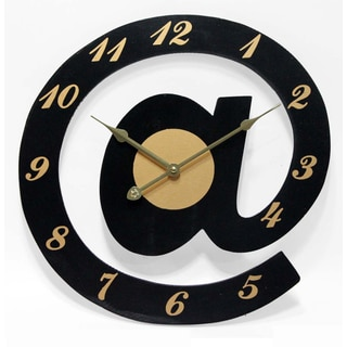 Infinity Instruments 15.5-inch Intr@net Wall Clock