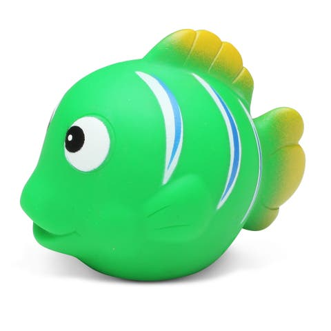 Puzzled Green Reef Fish Squirter