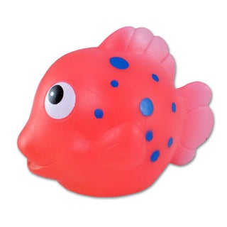 Puzzled Pink Reef Fish Squirter Bath Toy