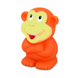 Puzzled Orange/Yellow Monkey Squirter