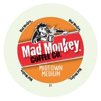 Mad Monkey Midtown Medium RealCup Portion Pack For Keurig Brewers