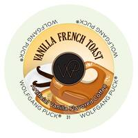 Wolfgang Puck Vanilla French Toast RealCup Portion Pack For Keurig Brewers