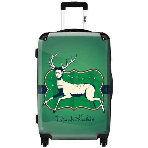 iKase 'Frida Kahlo Hurt Deer' ,Check-in 24-inch  Hardside Spinner Luggage
