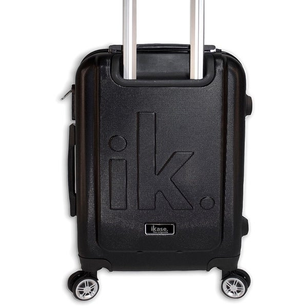 Ikase Hardside Spinner Luggage Watermelon texture