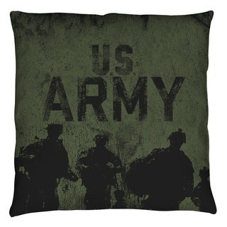 Army/Strong Throw Pillow