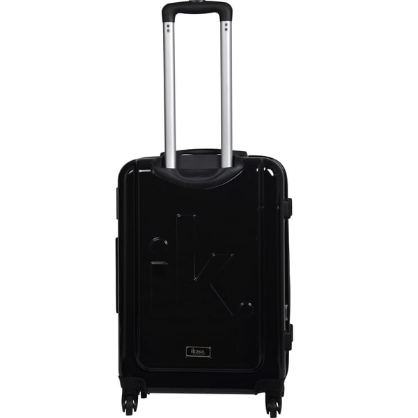 iKase 'Pink Lips' 24-inch Fashion Hardside Spinner Suitcase - Free ...