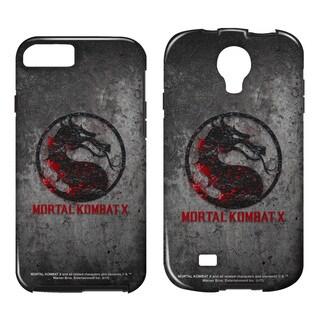 Mortal Kombat X/Stone Logo Tough/Vibe Smartphone Case (Multiple Devices) in White