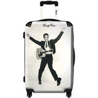 iKase 'Elvis Presley 3'  Check-in 24-inch,Hardside Spinner Suitcase