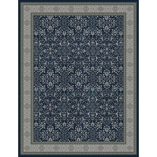 Vision Traditional Blue/Grey Rug (9'10 X 12'9)
