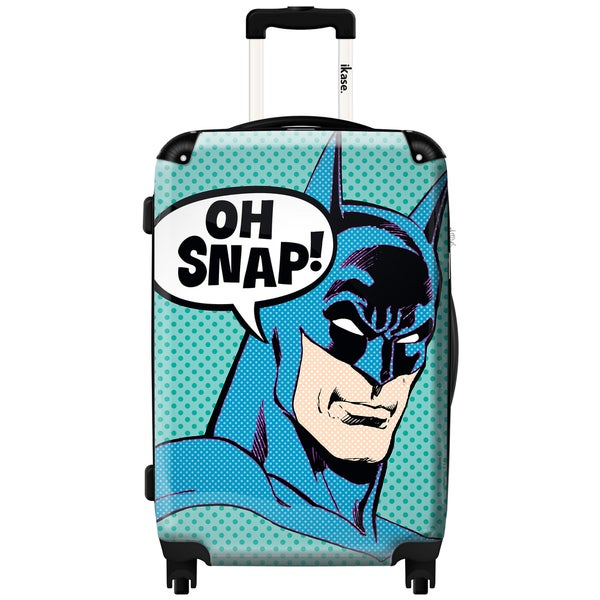 iKase 'Batman Oh Snap' Check-in 24-inch,Hardside Spinner Suitcase