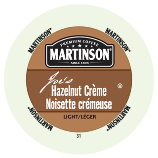 Martinson Coffee Hazelnut Creme, RealCup Portion Pack for Keurig Brewers