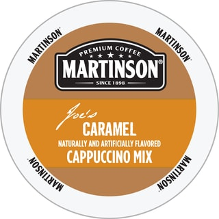 Martinson Joe's Caramel Cappuccino Mix RealCup Portion Pack For Keurig Brewers