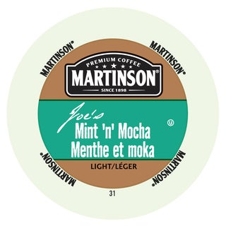 Martinson Coffee Mint 'n' Mocha RealCup Coffee Portion Pack for Keurig Brewers