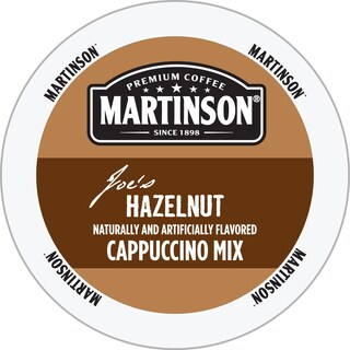 Martinson Hazelnut Cappuccino RealCup Portion Pack