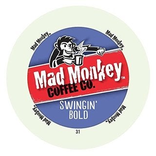 Mad Monkey Swingin' Bold RealCup Portion Pack for Keurig Brewers