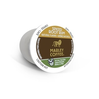 Marley Coffee Spiced Root Rum, RealCup Portion Pack For Keurig Brewers