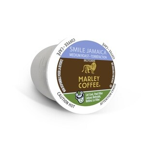 Marley Coffee Smile Jamaica Blend, RealCup Portion Pack For Keurig Brewers