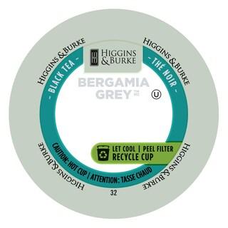 Higgins & Burke Bergamia Grey Loose Leaf Tea RealCup Portion Pack (2 options available)