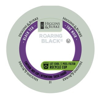 Higgins & Burke Roaring Black Loose-leaf Black Tea RealCup Portion Pack For Keurig Brewers
