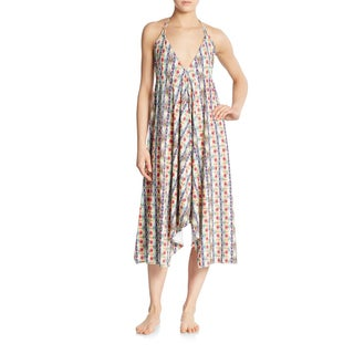 PilyQ Sunbeam Rion Geometric Print One-size Cover-up