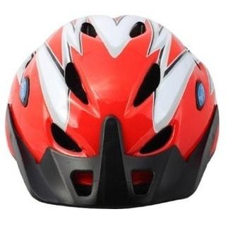 Rhoads Town Blue/Red Padded Bike Helmet