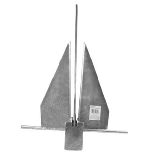 Danielson Galvanized Fluke Anchor