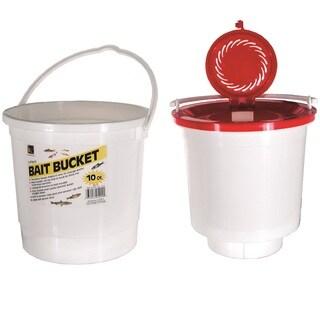 Danielson Plastic 10-quart 2-piece Bait Bucket