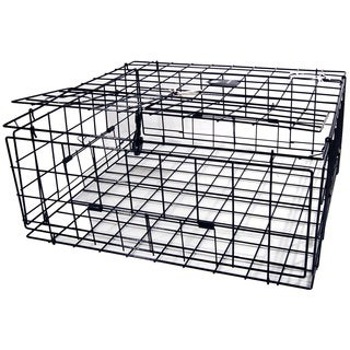 Danielson Jumbo Pacific Vinyl-coated Wire 30-inch Square Fold-Up FTC Crab Trap