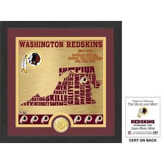 "Washington Redskins ""State"" Bronze Coin Photo Mint - Multi-color"