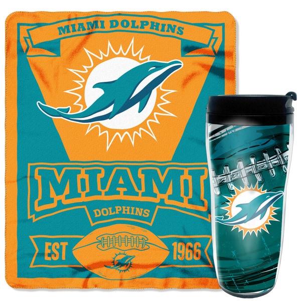 The Northwest CompanyNFL Dolphins Mug N' Snug Set