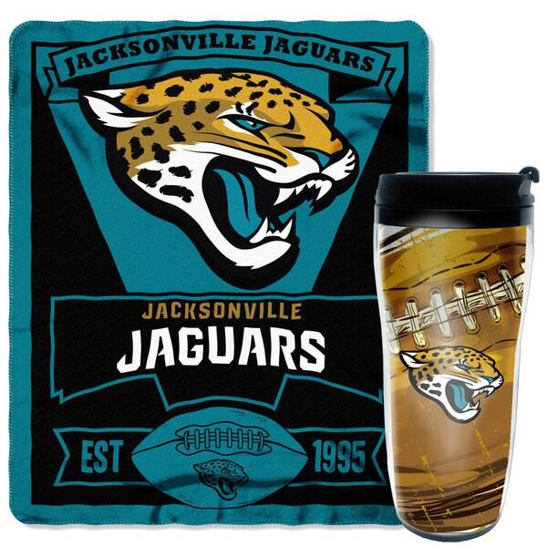 NFL Jaguars Mug 'N Snug Set